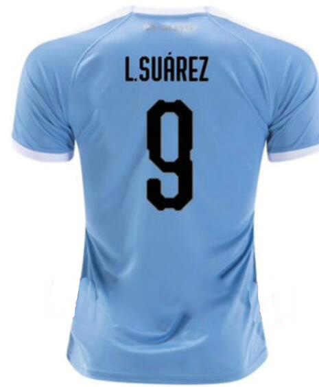 2019 для URUGUAY Camiseta de futbol Camisa взрослые рубашки 19 20 L. SUAREZ E. cani Maillot de foot size running комплекты для бега