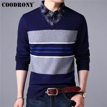 COODRONY Mens Sweaters 2019 Spring New Arrival Cashmere Cotton Sweater Men Knitwear Twinset Pull Homme Casual Pullover Men 91003