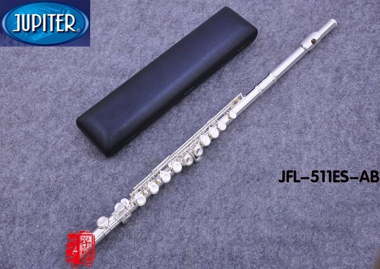 Taiwan JUPITER JFL-511ES 16 Holes Closed C Key Flute Cupronickel Silvering Flauta Transversal Instrumentos Musicales Case
