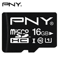 PNY TF Flash Memory Card Micro SD 16GB 8GB Class 10 UHS-1 U1 40MB/S Reading Performance High Speed SD TF Card For Smartphone