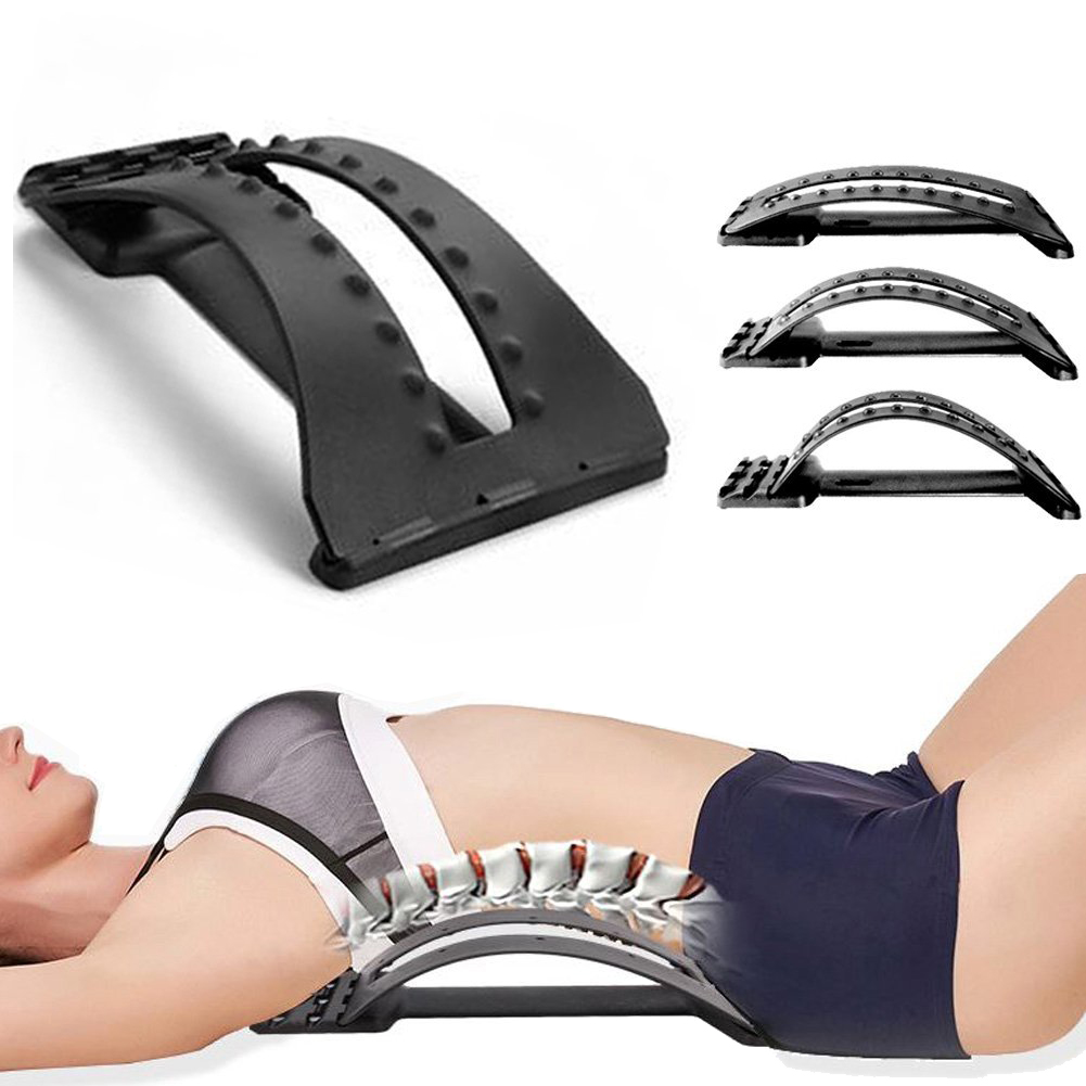 Multifunctional Back Stretcher Stretching Device Adjustable ...