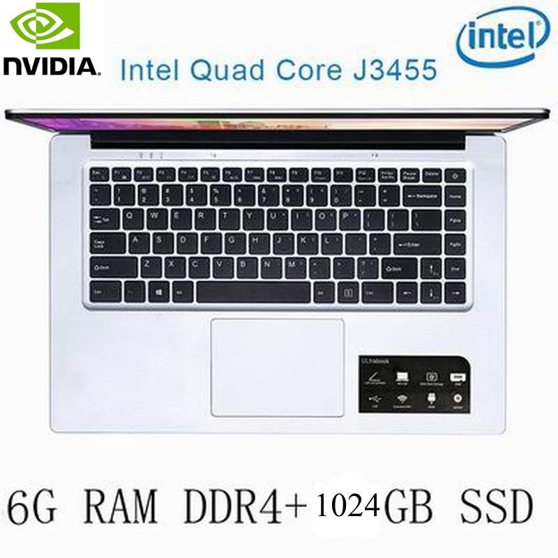 רשימת הקטגוריות P2-27 6G RAM 1024G SSD Intel Celeron J3455 NVIDIA GeForce 940M מקלדת מחשב נייד גיימינג ו OS שפה זמינה עבור לבחור (1)