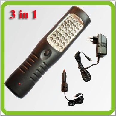 PRODEM merk Drop verzending 3 in 1 draadloze led noodlamp led werk - Draagbare verlichting
