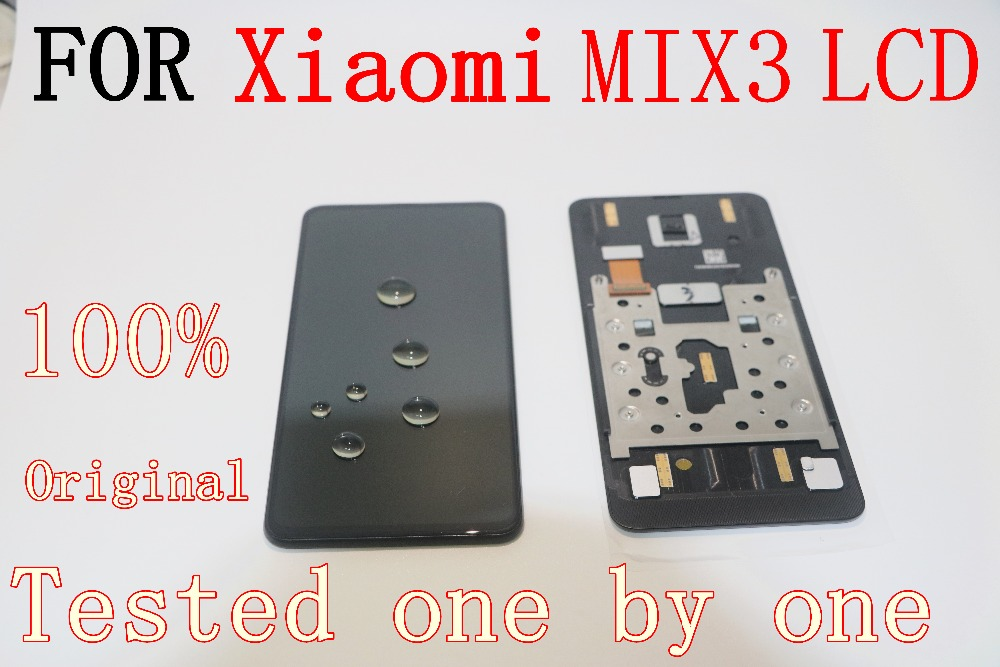6 39 Original Forxiaomi mi mix3 display mi mix3 Lcd screen Display Touch panel digitizer with