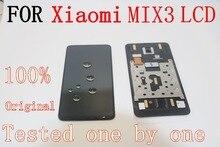 """6.39 """"מקורי Forxiao mi mi mi x3 תצוגת mi mi x3 Lcd מסך תצוגה + מגע לוח digitizer עם מסגרת mi x3 תצוגת מסך"""