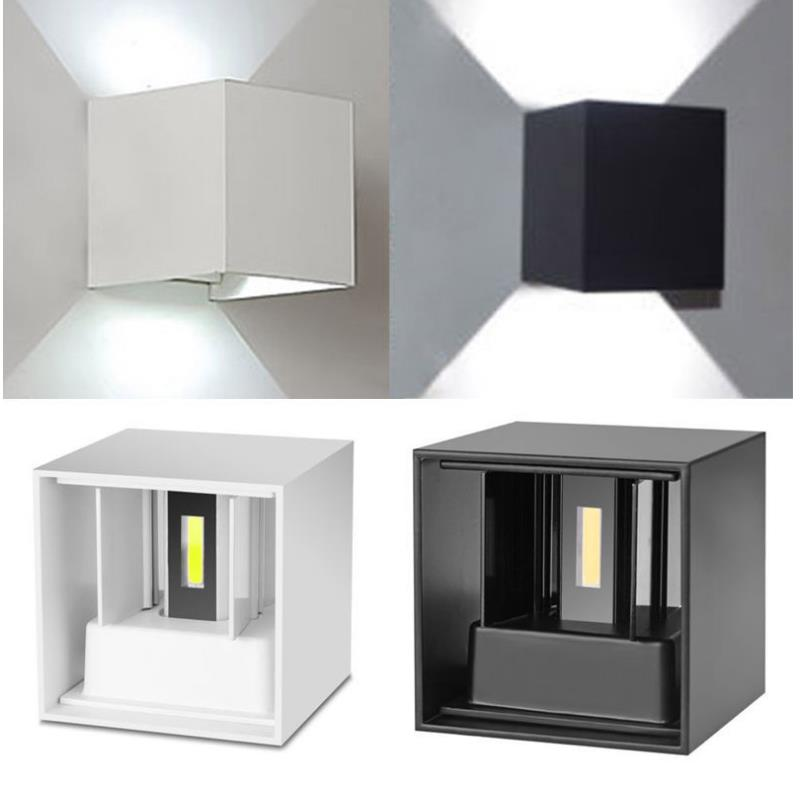 new product d9a9f 18387 US $19.5 |Outdoor LED 6W Wall Light Sconces Waterproof Villa Outdoor Wall  Lamp Front Porch Light Fixture 85~260V Wandleuchte Exterieur led-in LED ...