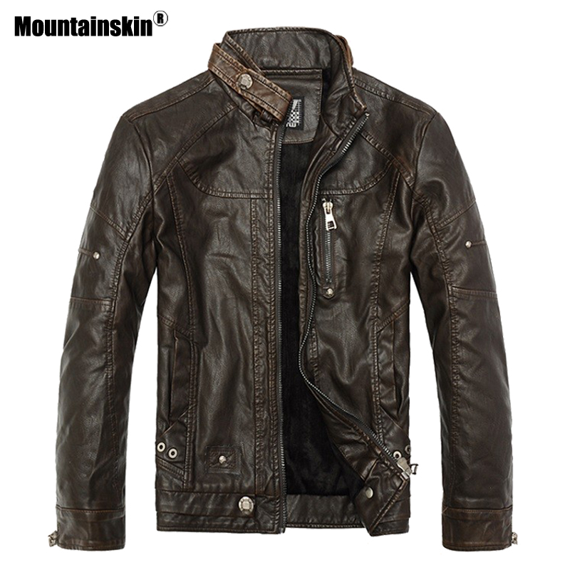 Mens Bikers Winter Leather Jacket 2