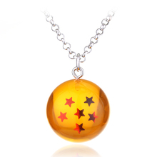 1-7 Dragon Ball Necklaces (Sold Seperately)