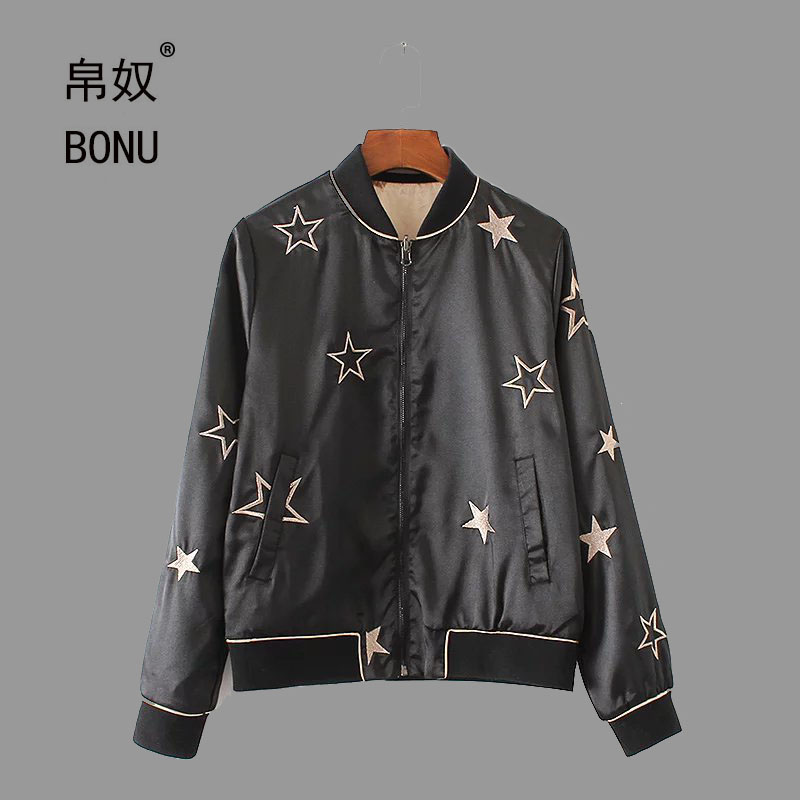 Compare Prices on Black Satin Baseball Jacket- Online Shopping/Buy ...