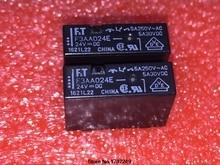 Ücretsiz Kargo 50 Adet 100% yeni orijinal Röle F3AA005E F3AA005 F3AA012E F3AA012 F3AA024E F3AA024 5VDC 12VDC 24VDC 4Pin 5A 250VAC