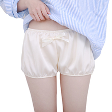Summer pants lolita pumpkin pants summer loose leggings Satin silk girls