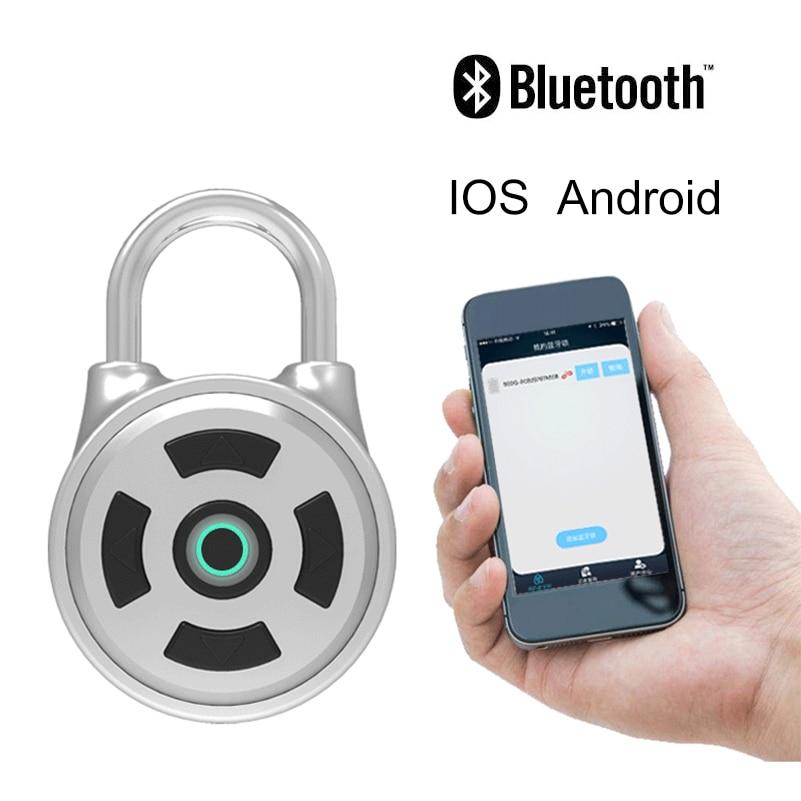 Waterproof Bluetooth Anti-Theft Smart Keyless Bluetooth Phone APP Control Lock