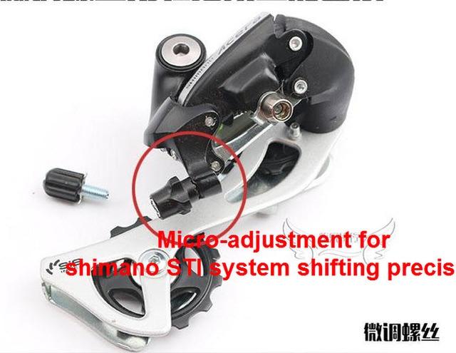 1pc Bicycle M5 Rear Derailleur Barrel Adjuster Mtb Bike Disc Brake