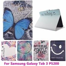 Tablet PC Flip Leather Case For Samsung GALAXY P5200 Tab 3 10.1 «обложка Anti-Dust Падение Сопротивления Защитной Оболочки Кожи Жилья