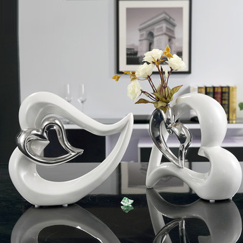 popular modern decorative vases buy cheap modern decorative vases lots from china modern. Black Bedroom Furniture Sets. Home Design Ideas