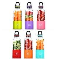 500ML Portable Electric Juicer Cup USB Rechargeable Automatic Vegetables Fruit Juice Maker Bottle Juice Extractor Blender