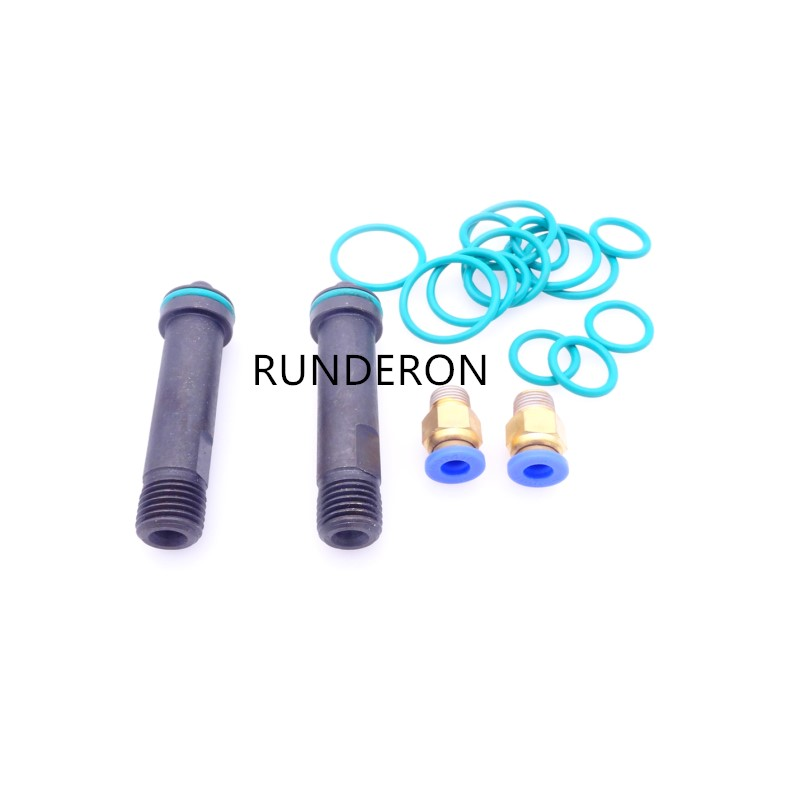 Image 2 - Diesel Common Rail Tester Bench Repair Kit for BOSCH/DENSO Injector Clamping Holder Fixture Sealing Oil Return Collector