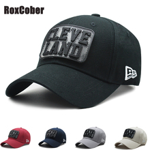 RoxCober High Quality cotton letters Baseball Cap Mens Adjustable Cap