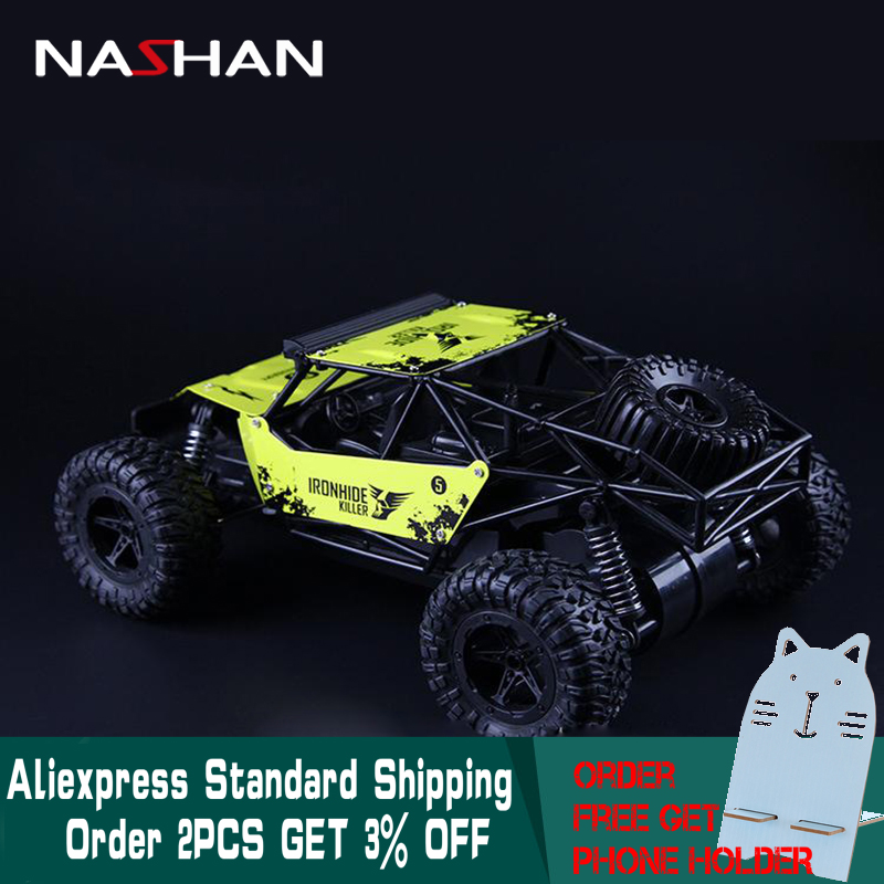 RC Voiture 4WD Machine sur Télécommande 1:16 Radio 2.4g Super Cross-Country Escalade Véhicule RC Voiture Buggy SUV Bigfoot dérive Jouet De Voiture