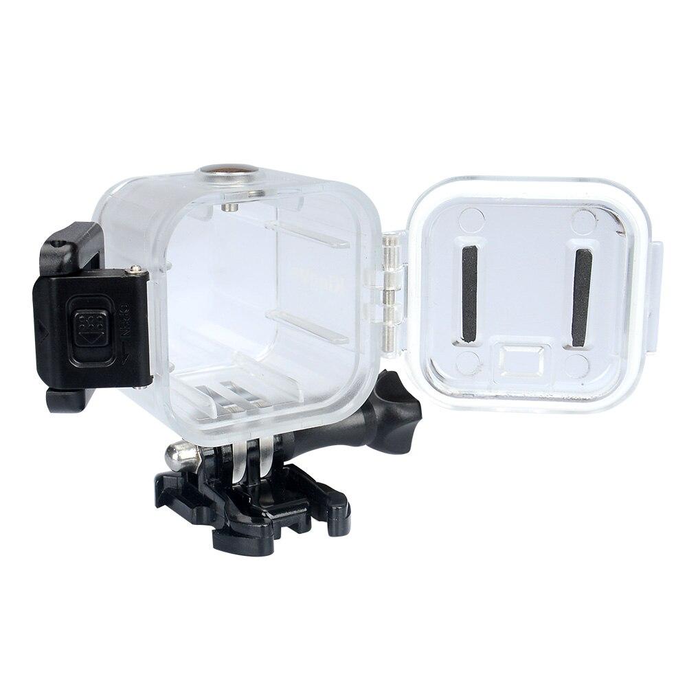 0a24524325b63 KingMa Cubo e um Cubo de Alta qualidade À Prova D  Água Caso Acessório para  Polaroid + Ação Câmera De Vídeo Subaquático 45 m À Prova D  Água em Sports  ...