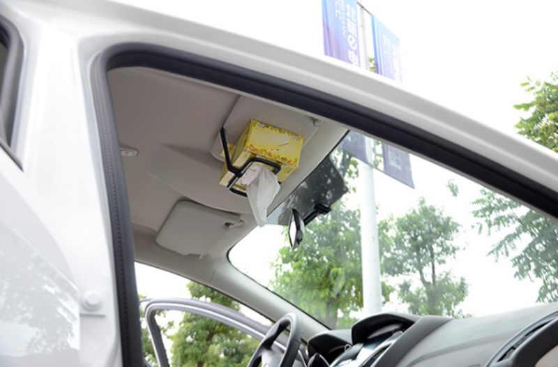 2019 רכב מגן שמש רקמות נייר תיבת רקמות מחזיק עבור קאיה ריו K2 K3 K4 K5 KX3 KX5 Cerato, נשמה, פורטה, Sportage R, Sorento אופטימה