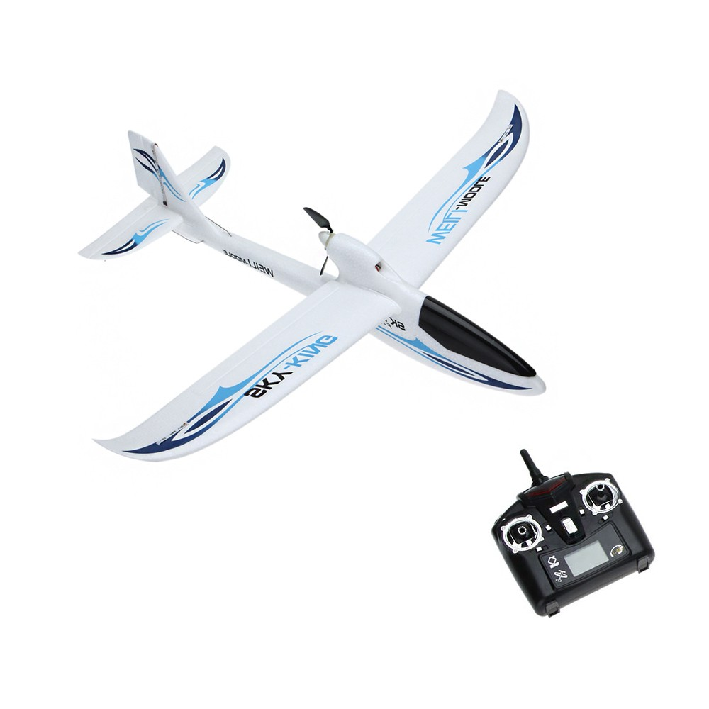 WLtoys F959 Sky King RC Aircraft 3CH 2.4GHz Rechargeable Li-Po Battery Wireless Remote Control Aircraft Wingspan RTF Airplane 3pcs 3 7v 900mah li po battery 3 in 1 green us regulation charger and charging cable for rc xs809 xs809hc xs809hw aircraft