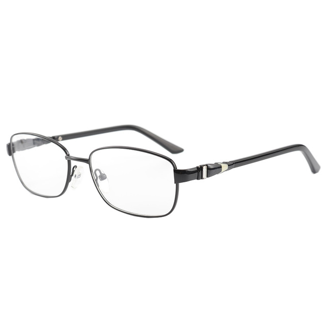 45884201a0 Black Vintage Eyeglasses Women Square Metal Eye Glasses Frames for Women  Optical Glass Prescription Eyewear Oculos de grau