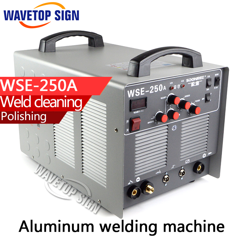 Aluminum welding machine WSE250A +welding machine+TIG welding machine цена и фото
