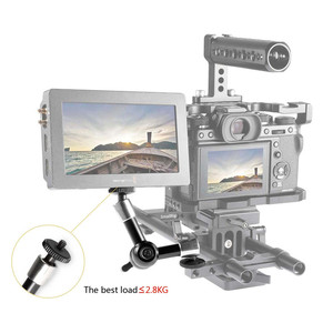 """Image 5 - SmallRig 7 inch Adjustable Friction Power Articulating Magic Arm with Both 1/4"""" Thread Screw for LCD Monitor/LED Lights  2065"""