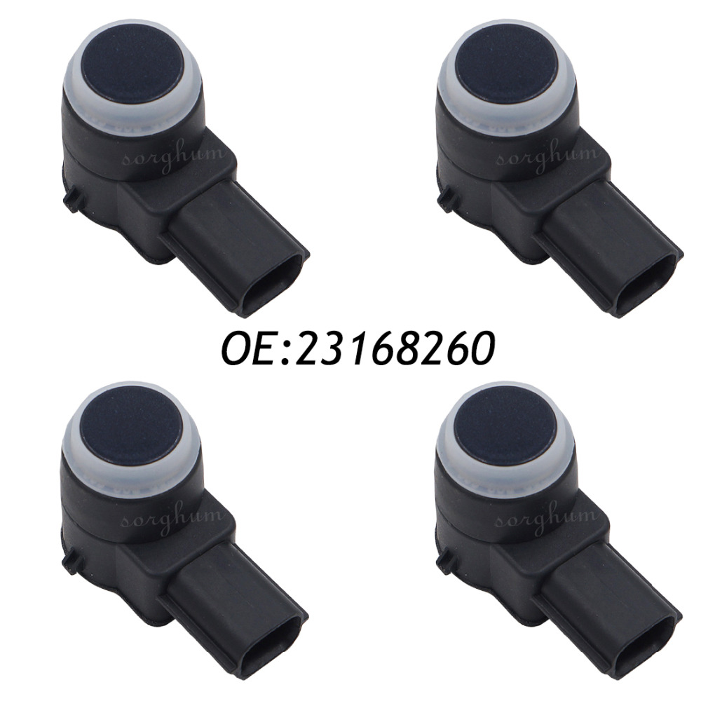 4PCS PDC Ultrasonic Parking Assist Sensor For GM 23168260 02630236014PCS PDC Ultrasonic Parking Assist Sensor For GM 23168260 0263023601