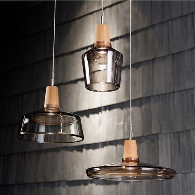 nordic modernas luces colgantes de cristal lmparas de techo de cristal casa loft comedor droplight lmpara