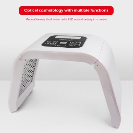 Professional 7 Colors PDT Led Mask Facial Light Therapy Skin Rejuvenation Device Spa Acne Remover Anti-Wrinkle BeautyTreatment