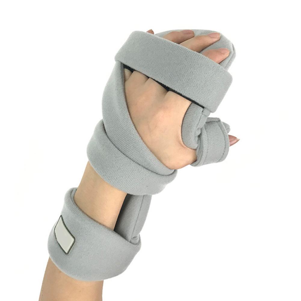 새로운 스타일 손 손목 홀더 골절 고정 손가락 교정기 부목 사람들 뇌졸중 Hemiplegic 재활 훈련 장비