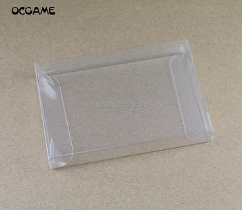 OCGAME Replacement Clear Transparent Game Card Cartridge Box for N64 Games Cart Protector Case Boxes  80pcs/lot