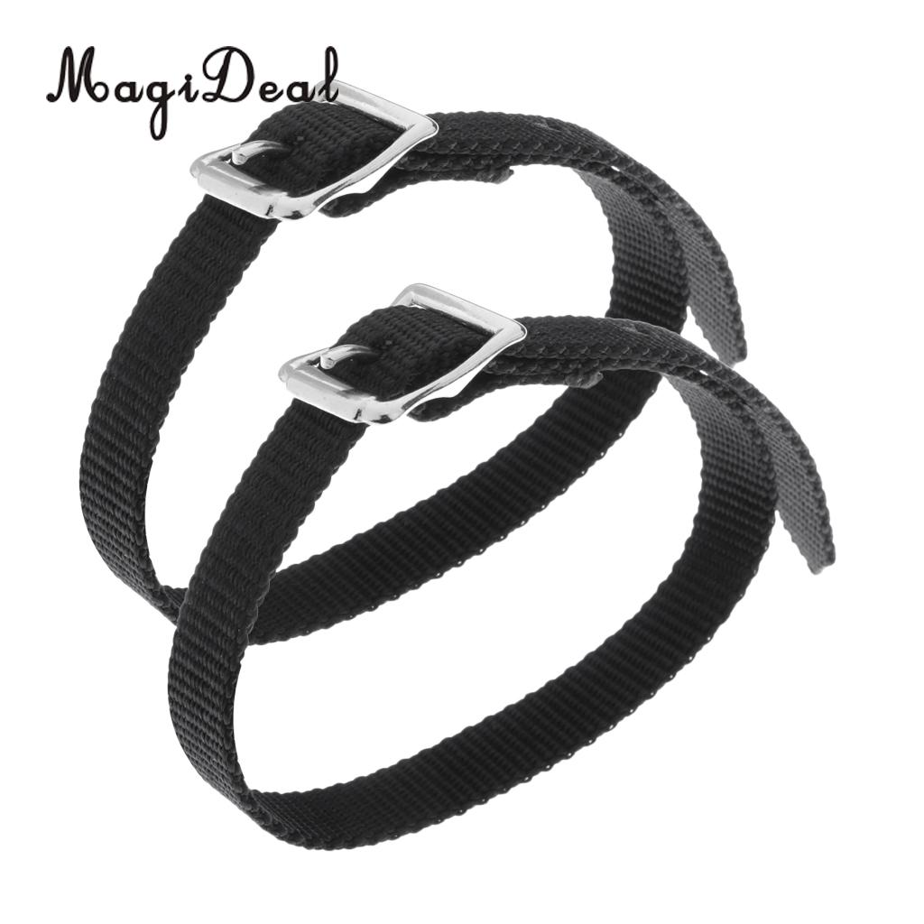 MagiDeal Thickened Weaved English Spurs Straps Horse Riding Equestrian Accessories ...
