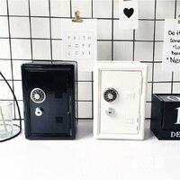 Home Accessories Mini Safe Deposit Box Children's Room Desktop Decoration Model Room Layout Creative Decoration Birthday Gifts