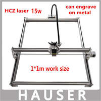DIY 15w Big Power Laser Metal Engraver Laser Metal Cutting Machine 1 1m Big Work Size