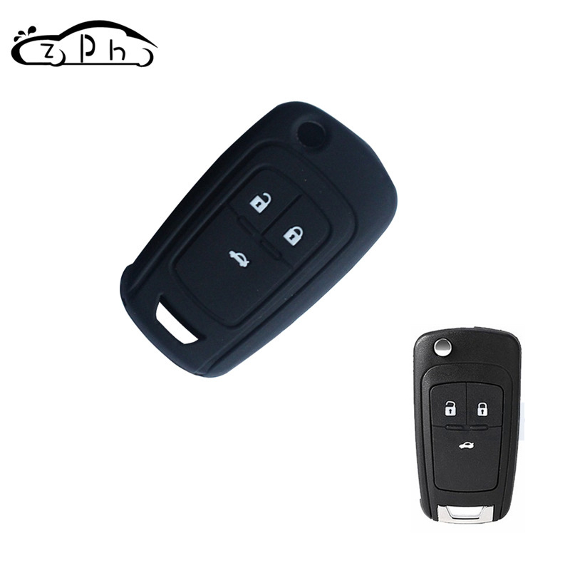 For Chevrolet Cruze 2013 Fit For Buick Opel VAUXHALL Astra Corsa Antara Meriva Insignia Silicone Car Key Case Cover Free Ship