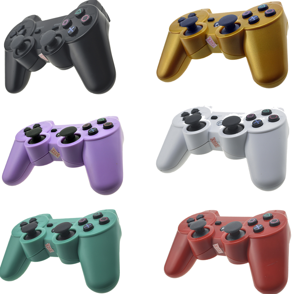 Bluetooth Controller For SONY PS3 Gamepad for Play Station 3 Joystick Wireless Console for Sony Playstation 3 SIXAXIS Controle four colors controle ps4 original wireless gamepad bluetooth joystick with touch panel for playstation 4 for ps4 controller