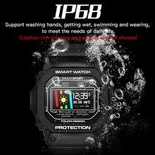 sports Smart watch waterproof Heart Rate Blood Pressure monitor Bracelet fo Swimming Dive Wristwatch outdoor Pedometer ECG watch цена и фото