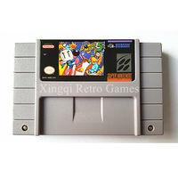 Super Nintendo SFC SNES Game Super Bomberman 5 Video Game Cartridge Console Card NTSC US English