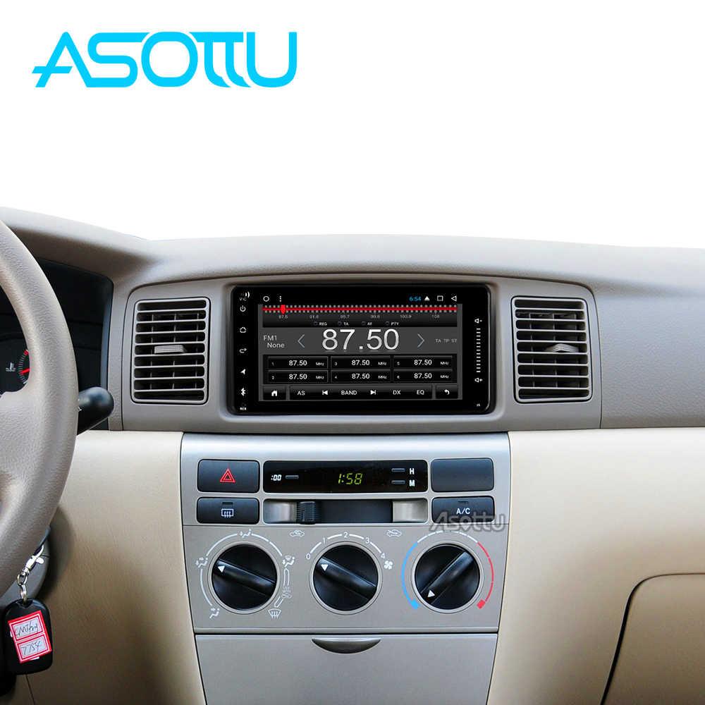 Asottu CHG7060 8 core أندرويد 9.0 مشغل أسطوانات للسيارة لتحديد المواقع والملاحة لتويوتا أفالون أفانزا سيليكا كامري كورولا سيارة راديو مشغل فيديو