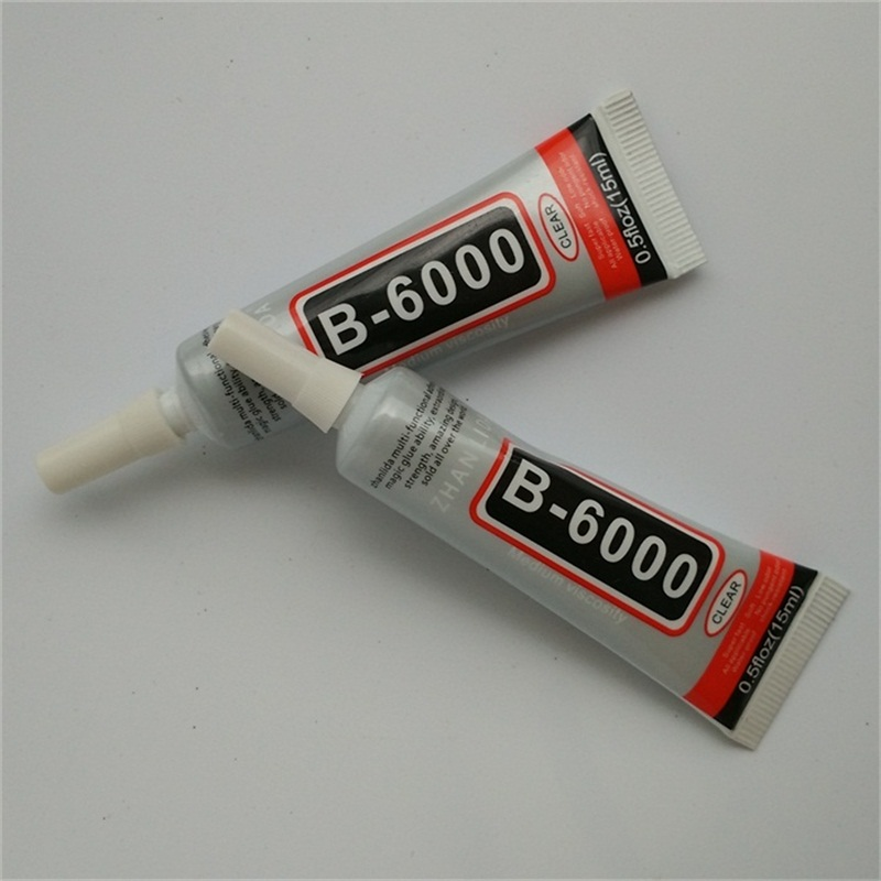 New Style 2PcsLot 15ML B6000 Glue For Cell Phone Adhesive Epoxy Resin Diy Crystals Rhinestones Wholesale Free Shipping