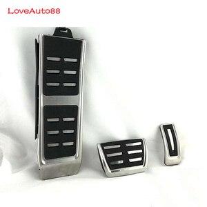 Image 5 - Accélérateur de voiture pédale de frein à gaz pédale plaquettes frein à essence embrayage à pédales pour Audi A3 A4 A6 A5 A7 Q3 Q7 A8 Q2L S4 S3