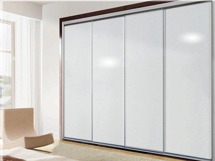 61*500 см ПВХ самоклеющиеся обои настенная бумага твердая белая глянцевая водонепроницаемая для наклейки для кухни Холодильник мебель
