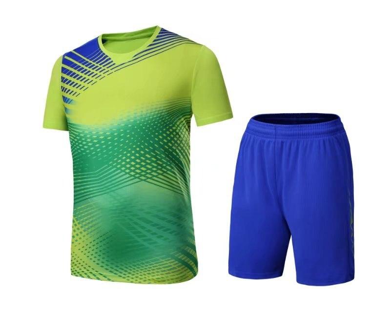 Badminton shirt,ping-pong jersey table tennis T-Shirt tennis competition training Costume gradual change Men sportwear tracksuit