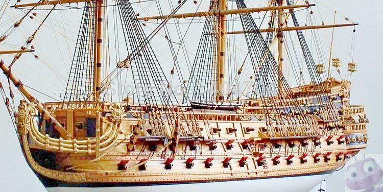 Us 240 8 44 Off Scale 1 50 Luxury Classic Sail Boat Wooden Model Kits San Felipe Warship Model English Instructions In Model Building Kits From Toys
