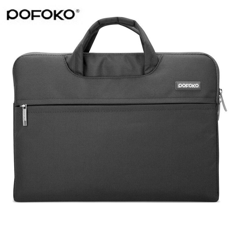 "POKOFO mode ordinateur portable sac de transport housse housse pour MACBOOK Samsung HP DELL Toshiba ASUS Sony Acer 11 ""13.3"" 15.4"""