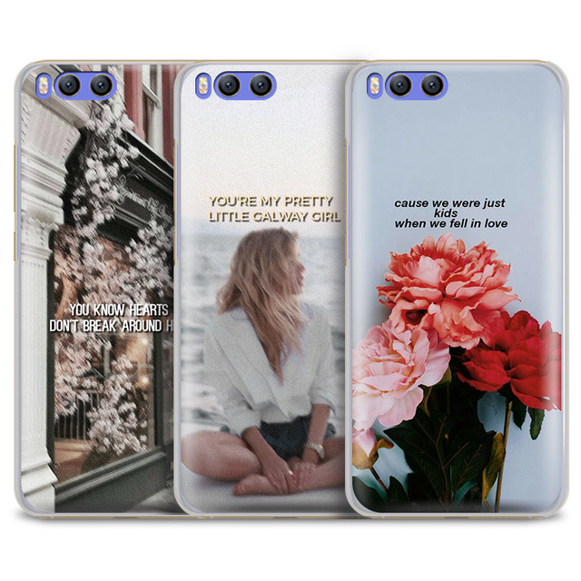 70cd537a69bf3 ed sheeran songs Lyric Aesthetic Quotes Phone Case For Xiaomi Redmi Note 2  3 4 4X 5A Pro Mi 8 5 5S Plus 5X 6 MiA1 Minote 2 3