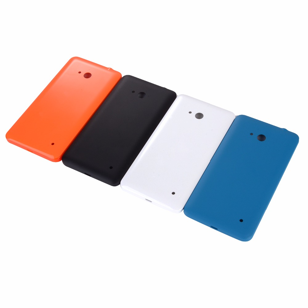 Original New Back Cover For Microsoft Nokia Lumia 640 Housing Battery Cover Back Shell With Side Button